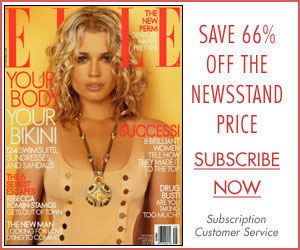 Ausgabe April 02 ELLE, Mode und Lifeystylemagazin